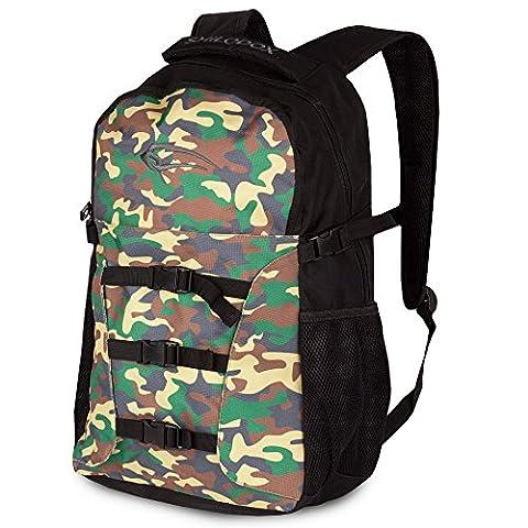 Smilodox Rucksack Gym Soldier, Farbe:Camouflage