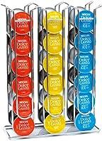 Coffee Shop Isis può contenere 36 capsule Dolce Gusto: struttura in acciaio INOX. 32x23x10 cm