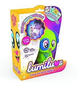 LUMILUVS TIgerHead Toys, Ltd. - Perro Mascotas Electrónicas con Luz y Sonidos. , Color Verde (59356)