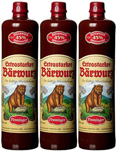 Penninger Extrastarker Bärwurz, 3er Pack (3 x 700 ml)
