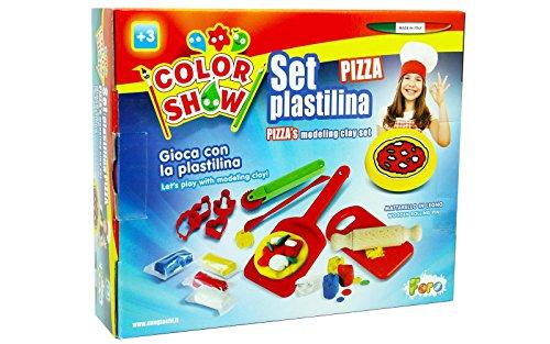 Unogiochi 618Color Show Pizza Modelliermasse Set