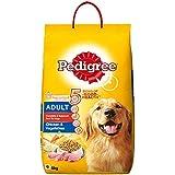 Pedigree Adult Dry Dog Food, Chicken and Vegetables, 6kg Pack