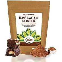 Cacao Orgánico en Polvo Crudo, Superalimento Vegano y Sin Azúcar - 400g