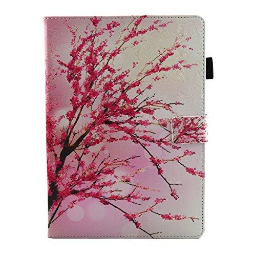 iPad IPad pro 10.5 Custodia per IPAD iPad pro 10.5 inch, inShang Smart Cover case in pelle PU, supporto per tenere L'iPad sollevato, magnetico per sleep e standby Peach blossom