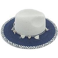 Sombrero Forme a Mujeres el Verano Toquilla Straw Panama Sun Hats para la  señora Elegante Queen 88123aed3f7
