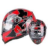 Flip up casco del motociclo adulto anti nebbia trasparente lente moto Caschi moto tappi di sicurezza per motocross racing