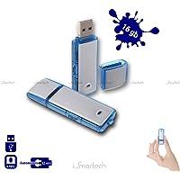 Clé USB enregistreur vocal 16Go, mini enregistreur vocal flash, micro espion caché