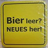 15 Bierdeckel Bier leer Spruchdeckel Spruch Fun Schild Sprüche Deko GMT 2