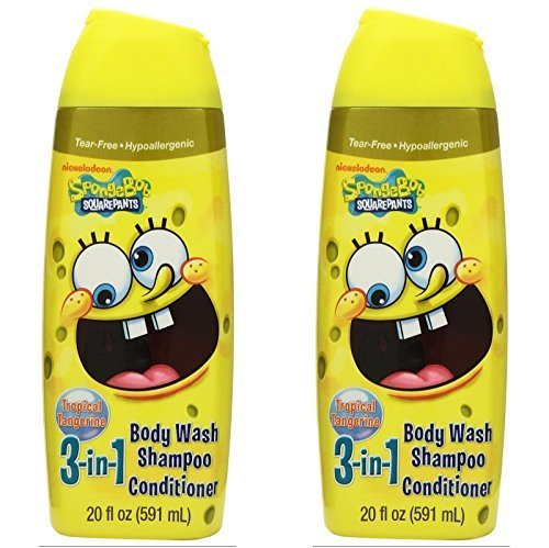 nickelodeon-spongebob-squarepants-3-in-1-shampoo-conditioner-body-wash-20-oz-pack-of-2-by-mzb