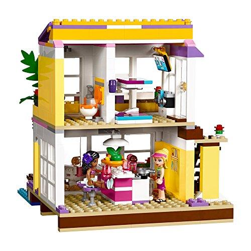 Lego friends 41037 la casa sulla spiaggia di stephanie for Costruire una casa sulla spiaggia su palafitte