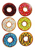 #6: Birthday Return Gift for Kids |Pack of 12 Doughnut Shape Erasers