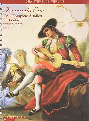 Fernando Sor: The Complete Studies for Guitar (Chanterelle)