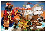 Melissa & Doug Pirate's Bounty Floor Jigsaw Puzzle (100 Pieces)