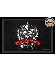 Motörhead Fußmatte Skull Logo Warpig Fussmatte Schmutzmatte Türabstreifer Türmatte Fußabstreifer Teppich doormat