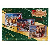 Jumbo 11069 - Falcon - Christmas Collection 2 - 3 x 1000 Teile in Box