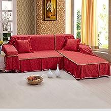 LY&HYL Toda la temporada Textiles para el hogar Cobertura completa Moda rústica 100% Algodón Sofa Cojín Cojín de tela Sofá Cobertura Sofá Toalla , 200*350Sofa Cover