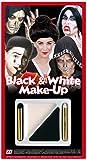 WIDMANN–Juego de maquillaje para disfraz Unisex-Adult, blanco/negro, talla única, 4012B