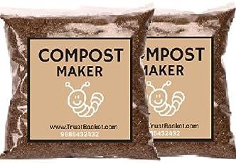 Trust Basket Bokashi Compost Maker Powder, 500 g (Pack of 2)