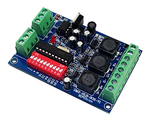 Constant Current 700mA High Power Controller DMX 512 RGB 3 Channel Decoder DC5V-36V