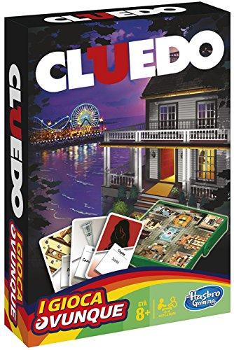 Hasbro Gaming TRAVEL CLUEDO