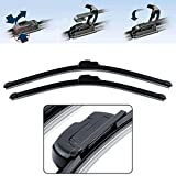 #9: POWER X FRAMELESS WIPER BLADES FOR POLO,VENTO,CIAZ,VERNA FLUDIC,INNOVA,COROLLA,I-20 (24x16)