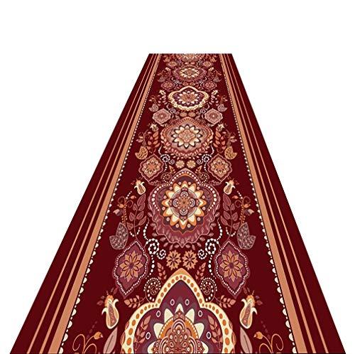 Nwn Läufer-Teppich Läufer-Eintritts-Teppich-Anti-Rutsch-Bereich Einfach, die Eingangs-Auflage zu säubern, kann volle Geschäft besonders angefertigt Werden (Color : A, Size : 1.2 * 5m) -