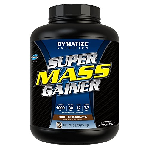 Dymatize Super Mass Gainer 2,72 kg Chocolate - 51xcnNf8GHL