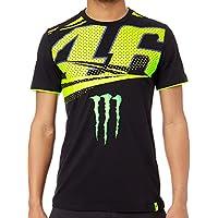Valentino Rossi VR46 Moto GP Monster Energy Monza Rally Camiseta Oficial 2018
