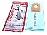 Evolution Bernina Type U Upright 6000 Series Vacuum Micro Paper Bags 5 PK;Fits With Models : 6000 Series Vacuum;With Closing Dust Seal;Manufacturer OEM Part # 01-2405-01