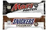 MARS & SNICKERS PROTEIN RIEGEL MIX BOX (12 Stück)