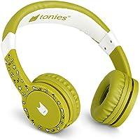 Tonie-Lauscher grün: Kinder Kopfhörer passend zur Toniebox - Lautstärke reguliert, Abnehmbares Kabel, Größenverstellbar…