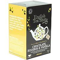 English Tea Shop - Chocolate, Rooibos & Vanilla - 20 Sachets - 40g (Pack of 3)