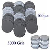 EsportsMJJ 100Pcs 50Mm 3000 Grit Abrasive Schleifscheiben Schleif Sand Schleifpapier