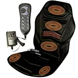 Massage Chair Heated Back Seat Massager Cushion For Car Home Relax Van Stress Touch Pad Control Operated Brand New And High Quality