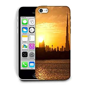 Snoogg Sunset In Dubai Printed Protective Phone Back Case Cover For Apple Iphone 5C