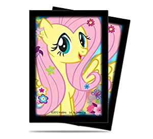 Ultra Pro - 330600 - Jeu De Cartes - Housse De Protection - My Little Pony Vs2 Fluttershy - Petit - 60 Pièces - C60