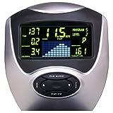 AsVIVA RA6 2in1 Rudergerät und Liegeergometer Cardio VI mit 10kg Schwungmasse und Multifunktionscomputer mit 16 Stufen, 6 Automatikprogrammen sowie Pulsmessung und klappbar - 4