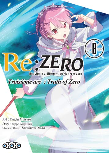 Re:Zero - Troisième Arc : Truth of Zero Edition simple Tome 8