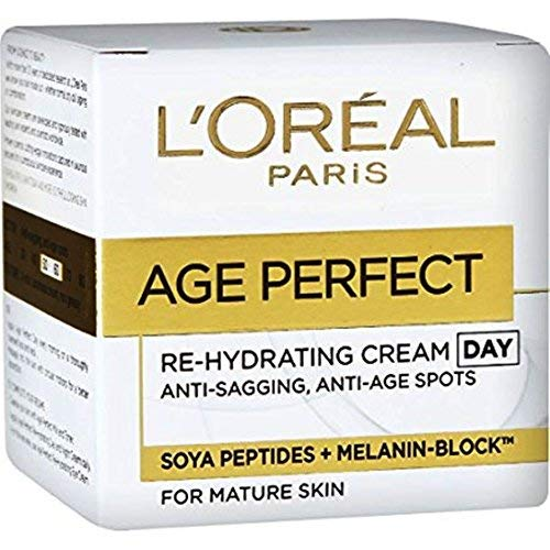 L'Oreal Paris Age Perfect Re-Hydrating Anti-Sagging, Anti-Age/Spots Day Cream, 50ml