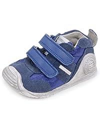 Nike Air Max 90 Prem LTR (PS), Baskets Basses Fille, Azul/Blanco (Copa/Blue Lagoon-White), 27 1/2 EU