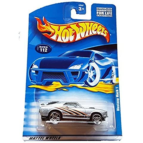 Hot Wheels 2001 #112 Mustang Mach 1; PR-5 Wheels by Mattel