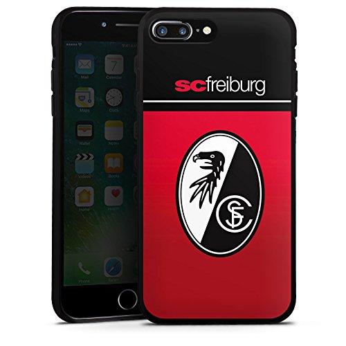 Apple iPhone 7 Plus Silikon Hülle Case Schutzhülle SC Freiburg Fanartikel Scf Fussball