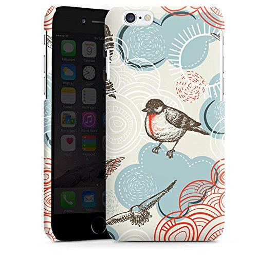 Apple iPhone 5s Housse étui coque protection Oiseau Motif Motif Cas Premium brillant