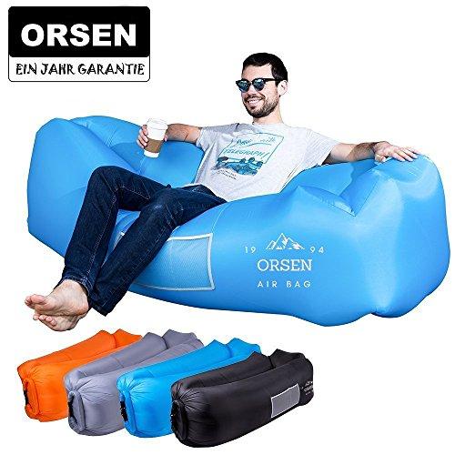 ORSEN Unisex Adult or2 Luft Couch, Meer, Strand (Blau01), 1