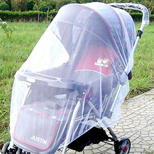 GE&YOBBY Baby-moskitonetz Portable Langlebige Baby-mücken-Netting 360 Schutz Kleinkind Schild Baldachin Für Kinderwagen Träger Autositzecradles-a (Fallen Vorhang Wieder)