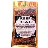 REEF TREATZO - Peces de marino, pellets, todo y copo – camarón, krill, misis, anfibios, algas nori