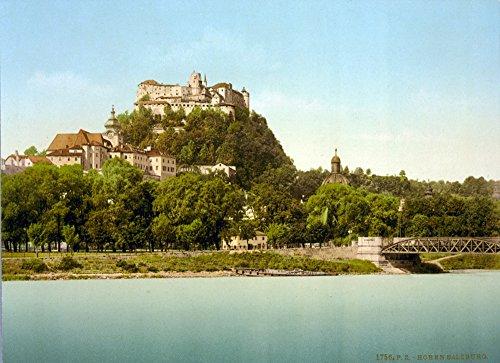 Science Source – Hohensalzburg Castle Austria 1890s Kunstdruck (60,96 x 45,72 cm) (Castle Hohensalzburg)