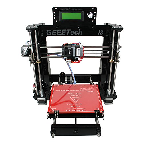 Best Geeetech Acrylic Prusa I3 Pro B Unassembled 3D printer DIY Kit,high quality excellent CNC Online