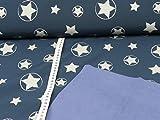 Glünz Softshell Magic Reflektion Stars, Blau, Öko-Tex