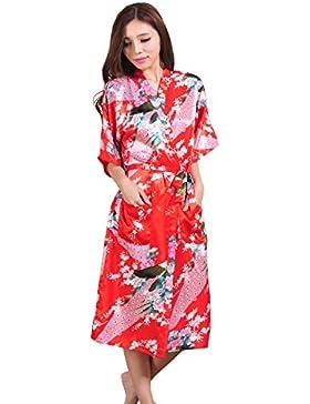 GL&G Il cardigan lungo del paragrafo della signora dell'abito di modo Sezione sottile L'abito giapponese del kimono...